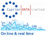 Caption Data - on line and real time